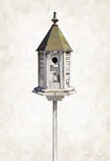 Danny House Prints - Old Birdhouse Print by Danny Smythe