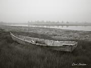 Dave Gordon - Old Boat in Tidal Marsh