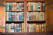 Bookcase Prints - Old books in prague Print by Matthias Hauser