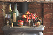 Coal Burner Framed Prints - Old Bottles Fruits and Berries - ref 5909 Framed Print by Colin Hogan