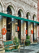 Jacksonville Framed Prints - Old Brick Building Framed Print by Kati Tomlinson