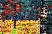 Old Brick Wall Print by Jim Wright