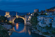 Mostar Photos - Old Bridge in Mostar by Ayhan Altun