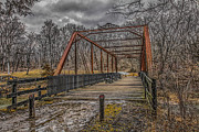 Muscatine Photos - Old Bridge by Ray Congrove