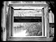 John Debar Art - Old Bridge Window by John Debar
