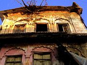 Haridwar Prints - Old Building at Kankhal Haridwar Print by Salman Ravish