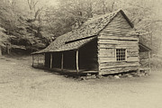 Old Cabin Photos - Old Cabin by Todd Bielby