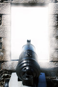 Defending Metal Prints - Old Cannon Metal Print by Joana Kruse