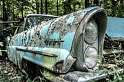 Green Day Art - Old car 4 by Oleg Koryagin