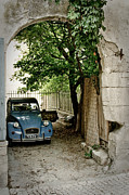 Saint-remy De Provence Posters - Old car Poster by Oleg Koryagin