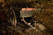 Old Cart Print by Liz  Alderdice