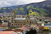 Al Bourassa - Old Cathedral In Quito...
