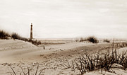 Photos Of Lighthouses Prints - Old Charleston Harbor Print by Skip Willits