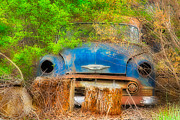 Rust Photos - Old Chevy by Bruce Siulinski
