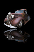Shows Framed Prints - Old Chevy Framed Print by Debra and Dave Vanderlaan