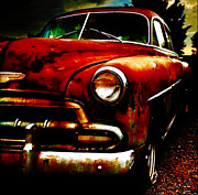 Michael Mixed Media Posters - Old Chevy Poster by Michael Knight