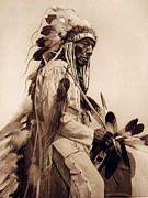 Western Art Digital Art - Old Cheyenne by Studio Photo