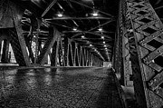 Lake Shore Drive Photos - Old Chicago Bridge by Mike Burgquist