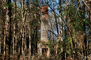 Old Country Roads Photos - Old Chimney 01  by Andy Savelle