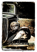 Hot Rod Photography Posters - Old Chrome Poster by Perry Webster