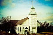 Hope And Change Photo Prints - Old Church Print by Jose Solis