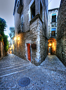 Southern Province Metal Prints - Old city Girona Metal Print by Isaac Silman