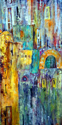 Municipal Painting Prints - Old City West Print by Katie Black