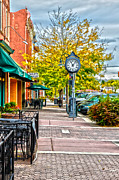 Fort Collins Art - Old Clock by Keith Ducker