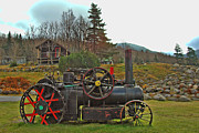 Narrow Gauge Engine Prints - Old Cog Print by Joann Vitali