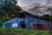 Tennessee Barn Originals - Old Conasauga Barn  by Paul Herrmann