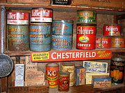 Folgers Posters - Old Country Store Shelf Poster by K Marie