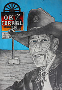 Cowboy Hat Mixed Media - Old Cowboy by Dennis Nadeau