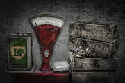 Measuring Posters - Old days Poster by Erik Brede