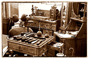 Office Equipment Metal Prints - Old Dentistry Metal Print by Julie Palencia