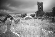 Despair Prints - Old desolated cemetery  Print by Dirk Ercken