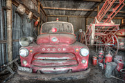 Shannon Rogers - Old Dodge Fire Truck