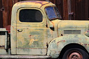 Backroads Prints - Old Dodge Truck 7D22382 Print by Wingsdomain Art and Photography