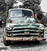 Old Pick Up Prints - Old Dodge Truck Print by Bill Cannon