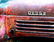 Nights Posters - Old Dodge Truck Poster by Bill Keiran