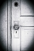 Old House Photographs Posters - Old Door Handle Poster by Virginia Folkman