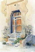 Door Originals - Old Door in Cuzco Peru by Marsha Elliott