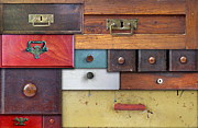 Undercover Framed Prints - Old Drawers - In Utter Secrecy Framed Print by Michal Boubin