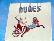 Sign Photos - Old Dunes Hotel Miami Beach by Matthew Bamberg