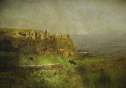 Roy Mcpeak Prints - Old Dunluce Print by Roy McPeak