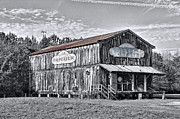 Historic Country Store Metal Prints - Old Emporium Store  Florence SC Metal Print by Scott Hansen
