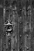 Old English Church Door Handle Print by Tim Gainey