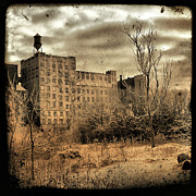 Factory Digital Art Framed Prints - Old Factory Framed Print by Gothicolors And Crows