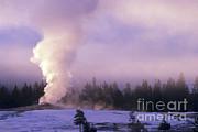 Art Wolfe - Old Faithful in Yellowstone