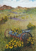 Katherine Young-Beck - Old Farm Equipment