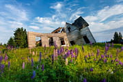 Dilapidated Houses Photos - Old Farm House by Matt Dobson